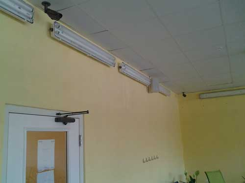 Security camera for Inches Fitness