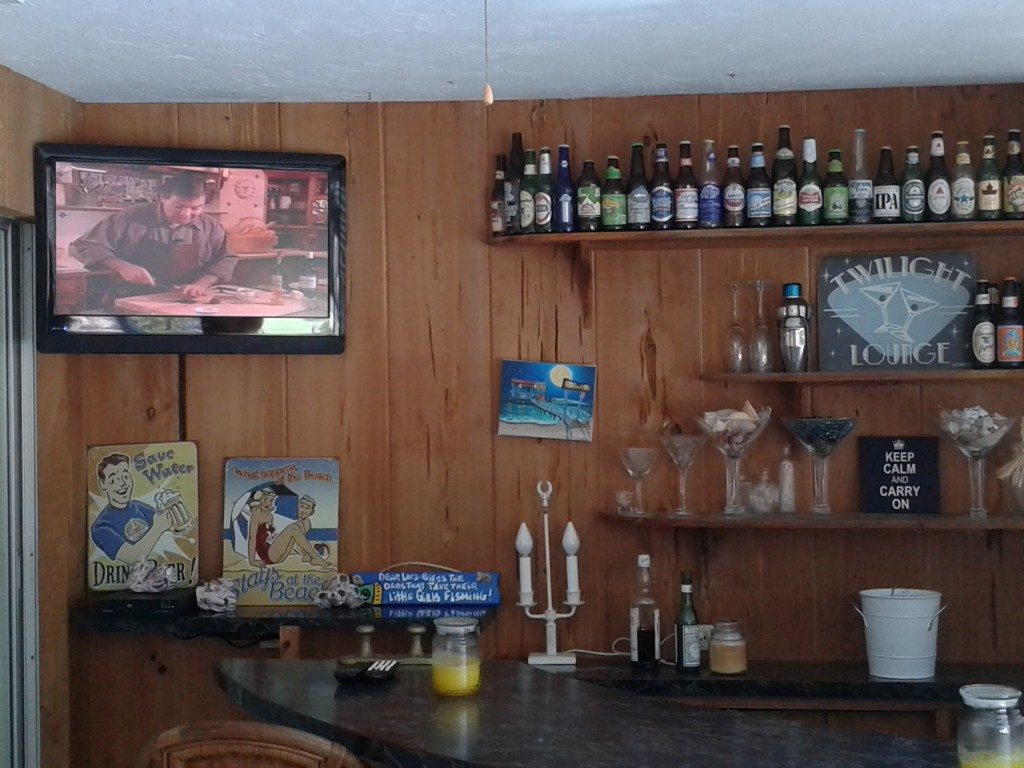 Home bar TV Installation
